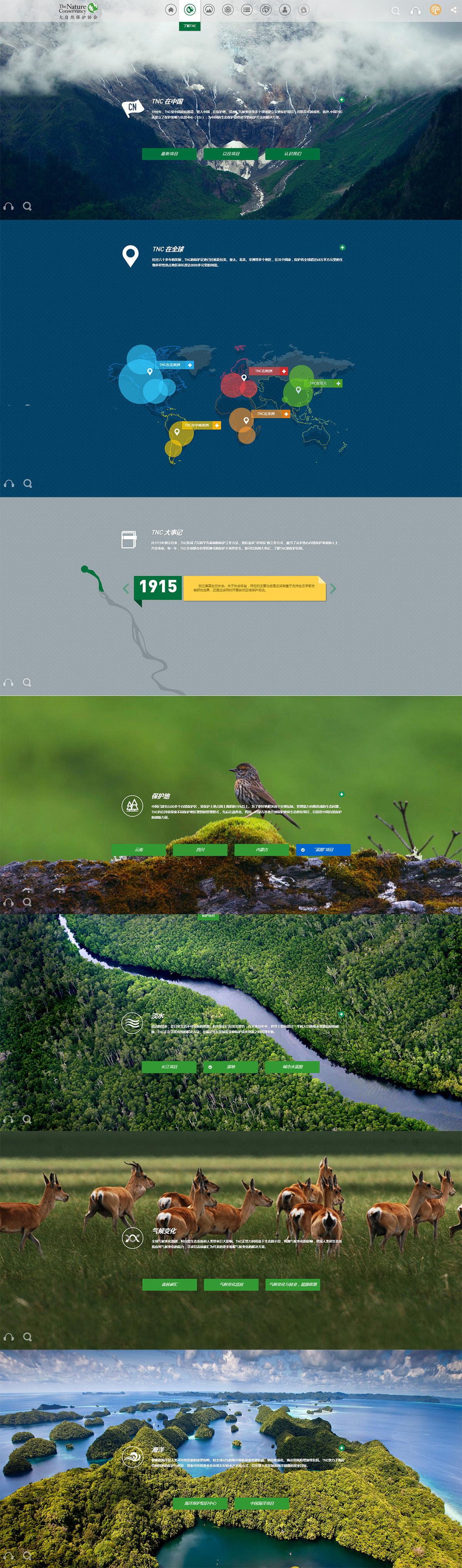 大自然保护协会协会案例图片