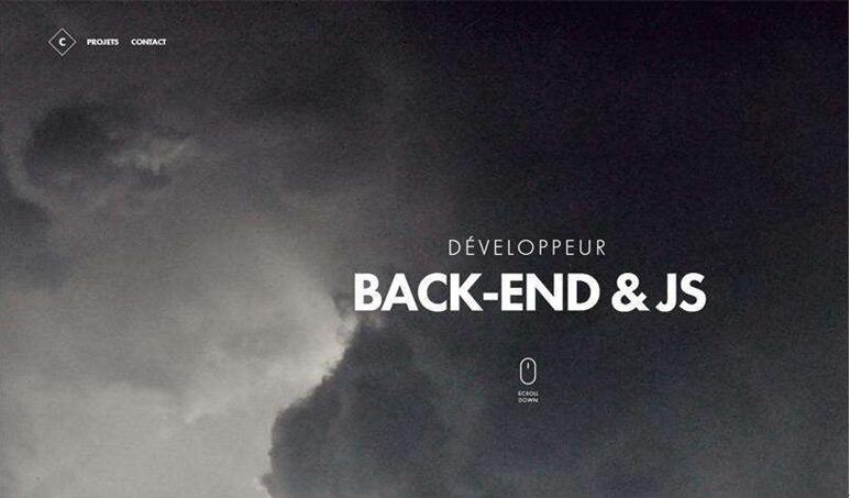 极简网页设计